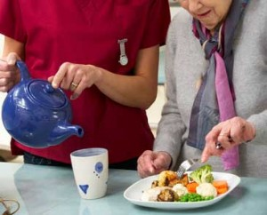 senior-woman-with-carer-eating-meal-at-home-xs